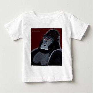Badoungo le Gorille Argenté ! T-shirt Pour Bébé