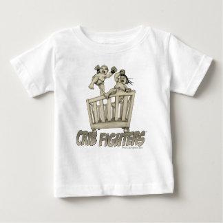 Bagarre de huche de combattants de huche t-shirt pour bébé