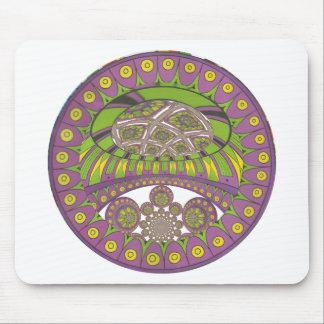 Bagout ethnique décoratif de prune de dentelle tapis de souris