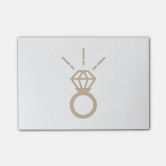 Bague à diamant d'or