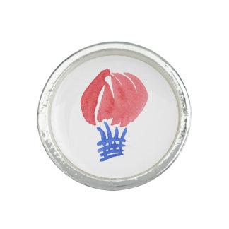 Bague Avec Photo Anneau rond de ballon à air