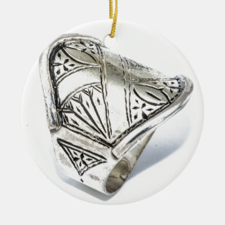 bague-bague-argent-homme-et-femme-cisele-15187579- ornement rond en céramique