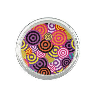 Bague Cercles concentriques #2