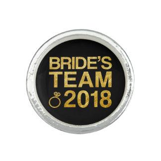 Bague L'équipe 2018 de la jeune mariée