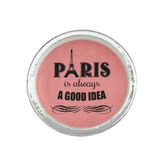 Bagues Avec Photo Paris est toujours une bonne idée