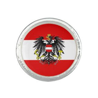 Bagues Drapeau autrichien