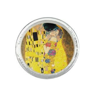 Bagues Le baiser par Gustav Klimt