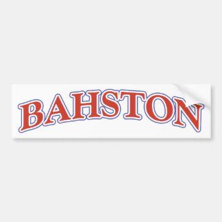 BAHSTON AUTOCOLLANT POUR VOITURE