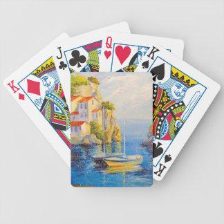 Baie confortable jeu de cartes