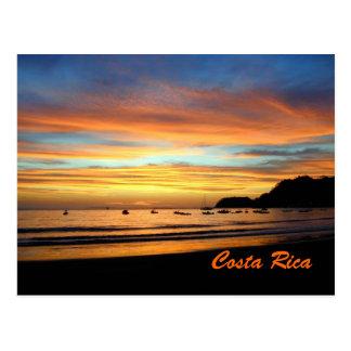 Baie Costa Rica de Herradura de carte postale