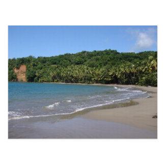 Baie de Batibou, carte postale de la Dominique