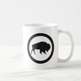 Baie de bison tasse de blanc de 11 onces