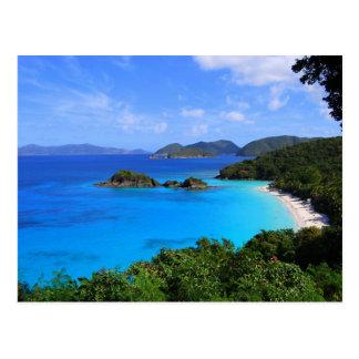 Baie de cannelle St John États-Unis Îles Vierges Carte Postale