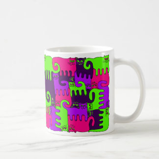 """Baie de forêt de chats de puzzle """"1"""" (NOUVEAU) Mug"""