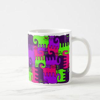 """Baie de forêt de chats de puzzle """"2"""" (NOUVEAU) Mug"""
