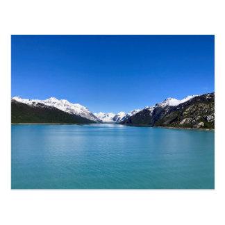 Baie de glacier carte postale