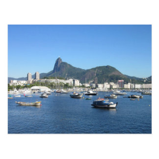 Baie de Guanabara dans le Rio de Janeiro Carte Postale