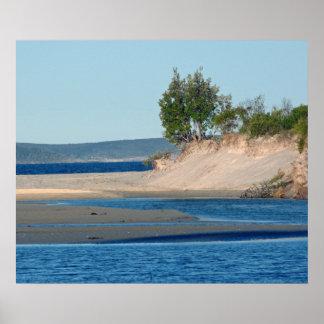 Baie de Jervis Poster