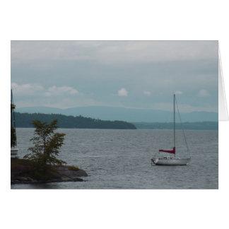 Baie de Kingsland, lac Champlain Carte De Vœux