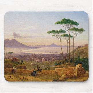 Baie de Naples Tapis De Souris
