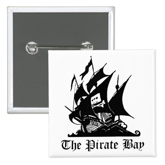 Baie de pirate, piraterie illégale d'Internet de Badges