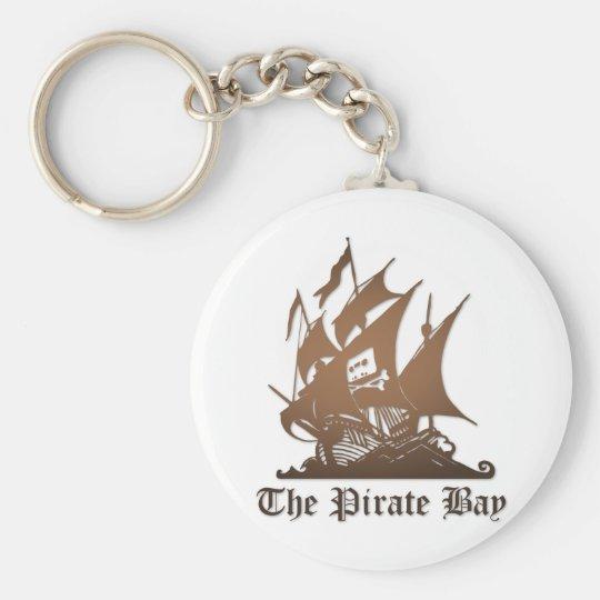 Baie de pirate, piraterie illégale d'Internet de Porte-clé Rond