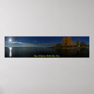 Baie de Quinte Belleville Ontario panoramique Affiche
