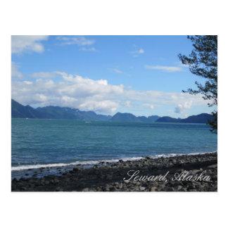 Baie de résurrection dans Seward, Alaska Cartes Postales