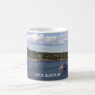 Baie de Stockholm Suède Mug