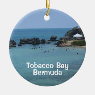 Baie de tabac, Bermudes Ornement Rond En Céramique