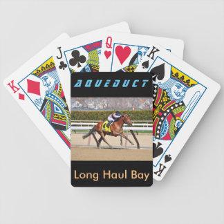 Baie longue-courrière cartes à jouer