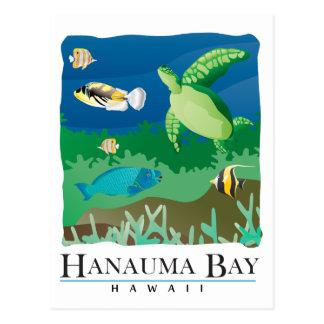 Baie Oahu Hawaï de Hanauma Carte Postale