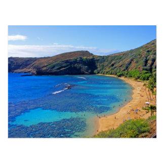 Baie profonde 3, Honolulu, Oahu, Hawaï de Hanauma Carte Postale