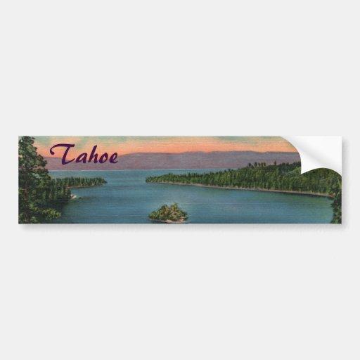 Baie verte - adhésif pour pare-chocs du lac Tahoe Adhésifs Pour Voiture