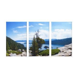 Baie verte le lac Tahoe Toile