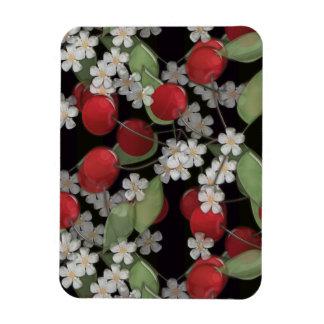 Baies rouges magnets en vinyle