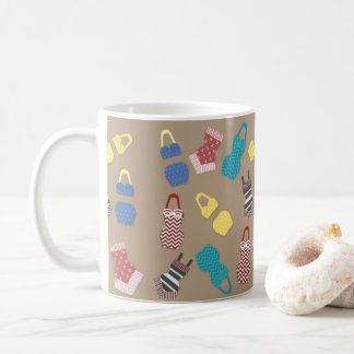 Baigneurs vintages mug
