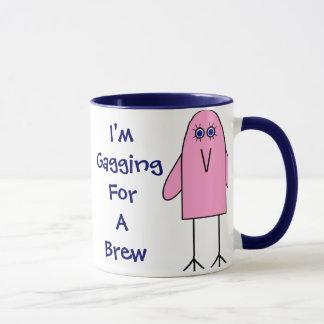 Bâillonner pour un Brew ! Tasses