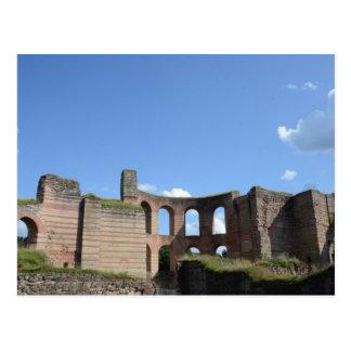 Bains romains impériaux carte postale