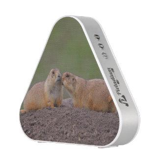 baiser de chien de prairie haut-parleur bluetooth