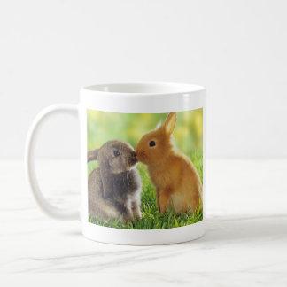 Baiser de lapin mug blanc