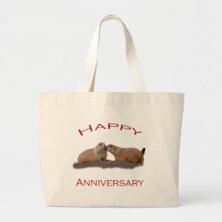 Baiser heureux d'anniversaire sac