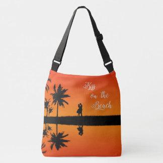 Baiser les vacances tropicales de couples de sac ajustable