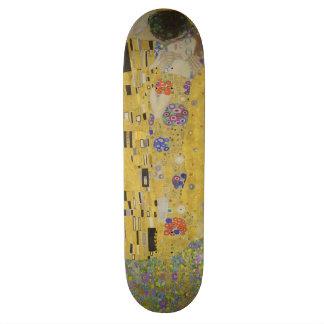 Baiser vintage (amants) par Gustav Klimt GalleryHD Skateboard