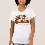 Baiser vintage de Noël T-shirt
