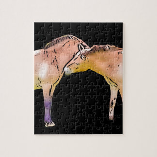 Baisers de chevaux sauvages puzzle