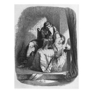 Baisers de Heloise et d'Abelard Carte Postale