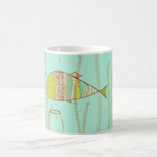 Baisers de poissons mug