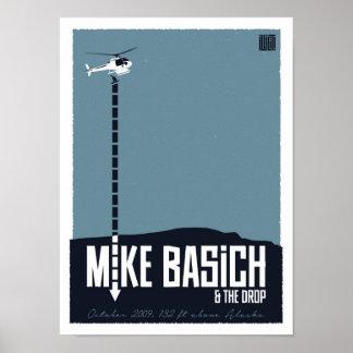 Baisse de Mike Basich Heli Posters