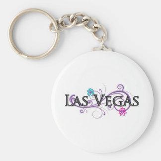 Baisse nommée de Las Vegas Porte-clé Rond